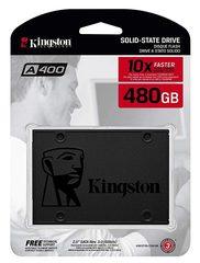 Твердотельный накопитель (SSD) Kingston 480Gb A400, SA400S37 480G, 2.5, SATA3