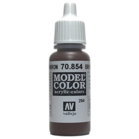 Model Color Brown Glaze 17 ml.