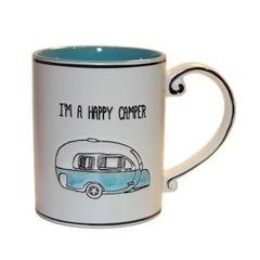 Кружка с караваном HAPPY CAMPER