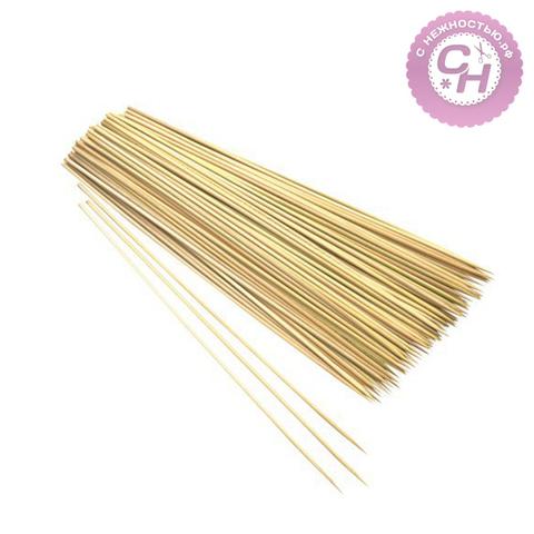 Бамбуковые палочки шпажки для декора, 20 см, 85-90 шт.
