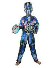 Костюм трансформер Оптимус Прайм с доспехами и бластером. Hasbro