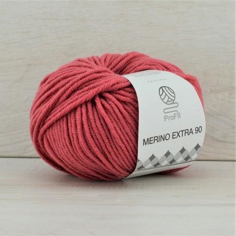 Пряжа Merino Extra 90 (Мерино экстра 90) Брусничный