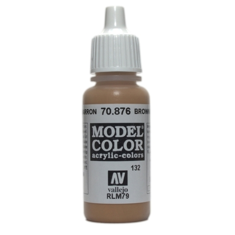 Model Color Brown Sand 17 ml.