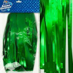 Занавес Дождик, Зеленый, Матовый, 100*200 см