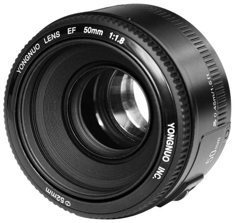 Объектив YongNuo AF 50mm f/1.8 для Canon EF