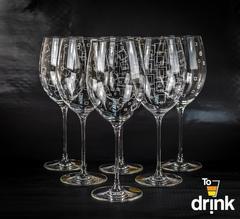 Бокалы для вина, 3x2, «Wintime. Гранд микс», 680 мл, фото 1
