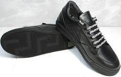 Красивые модные кроссовки женские Rifelini by Rovigo 121-1 All Black