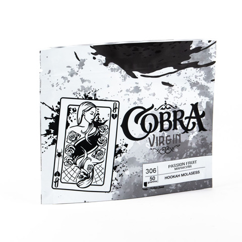 Кальянная смесь Cobra VIRGIN Маракуйя (Passion Fruit) 50 г