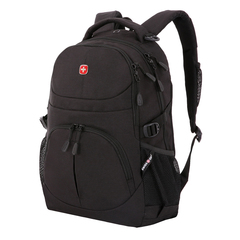 Рюкзак Swissgear, чёрный, 33х15х45 см, 22 л