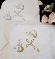 Крестильное полотенце с уголком