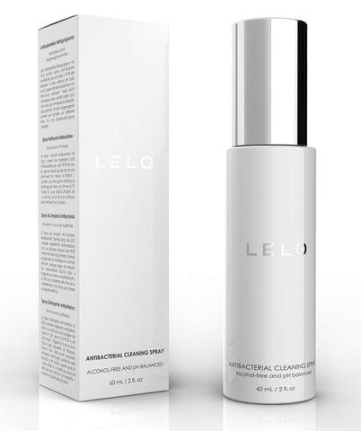 Антибактериальный очищающий спрей LELO - 60 мл.