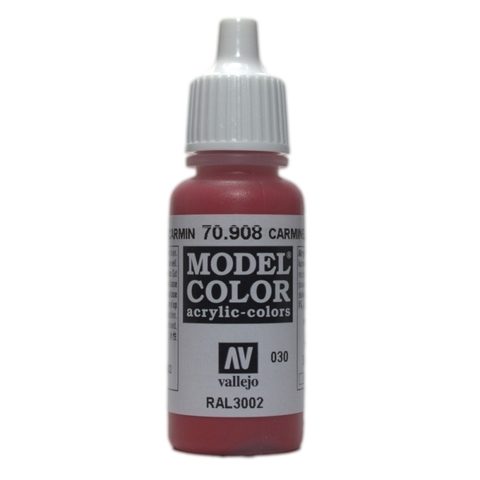 Model Color Carmine Red 17 ml.