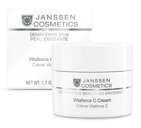 Регенерирующий Крем с Витамином C, Janssen Cosmetics,50мл