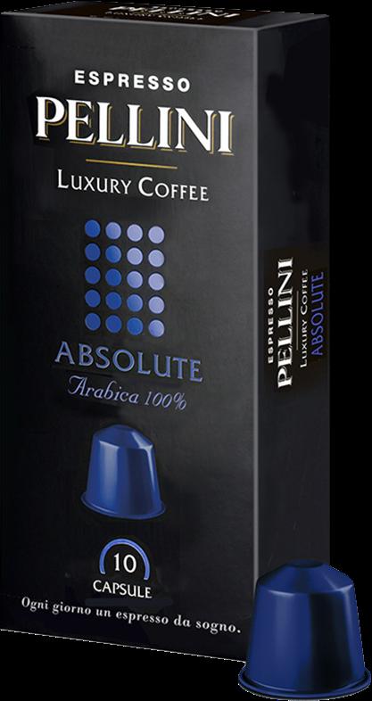 Кофе в капсулах Pellini Absolute (10 шт.)