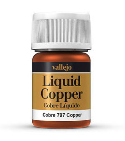 Model Color Copper (Alcohol Based) 35 ml.