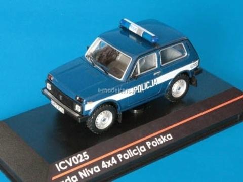 VAZ-21213 Lada Niva 4x4 Policja Polska Polish Police 1:43 ICV025