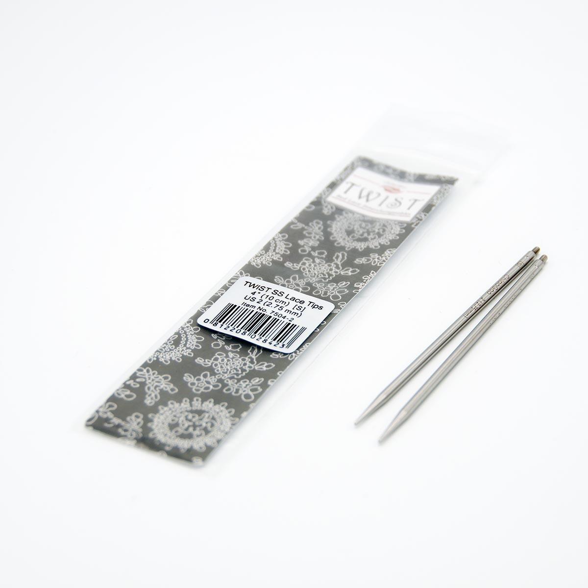 Спицы съёмные металлические, ChiaoGoo