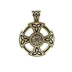 Крест кельтов кулон