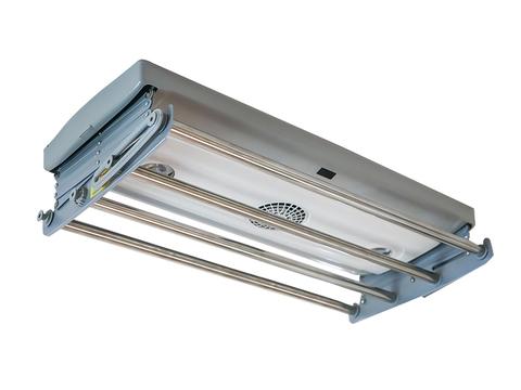 Электрическая потолочная сушилка для белья со встроенным светильником и вентилятором Gochu PSN-AH10A