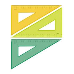 Треугольник Стамм (18 см, пластик)