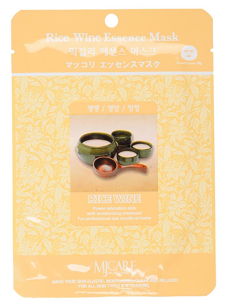 MIJIN Маска тканевая для лица рисовое вино Makgeolli Essence Mask МЖ67.jpg