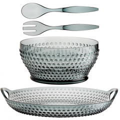 LUX LAGOON SALAD BOWL AND TRAY PACK