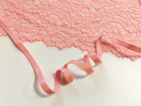 Бретелечная резинка, 10 мм, флорида (розово-коралловый), (Арт: BR640/10-1045), м