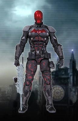 Бэтмен Рыцарь Аркхема фигурка Красный Колпак