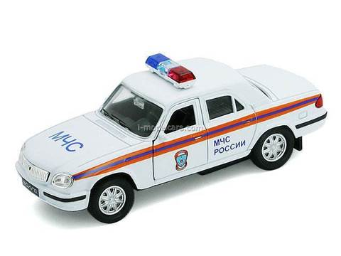 GAZ-31105 Volga MchS Russian Ministry of Emergency Situations AutoTime 1:43