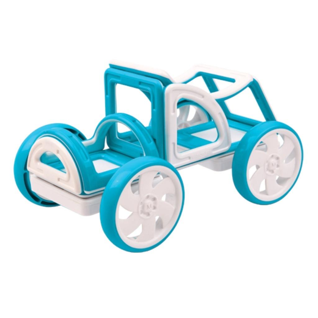 Магнитный конструктор Magformers My First Buggy синий