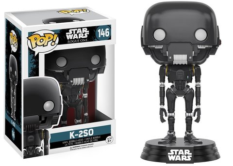 Фигурка Funko POP! Bobble: Star Wars: Rogue One: K-2SO 10454