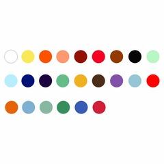 Набор минеральных красок для китайской живописи Marie`s, 36 цветов по 12 мл