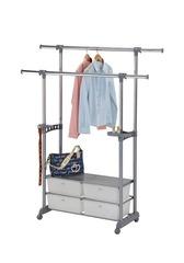 Вешалка для гардеробных с ящиками CH-4618 (MK-2343)