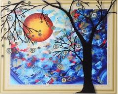 Дерево желаний-алмазная картина с фигурными стразами
