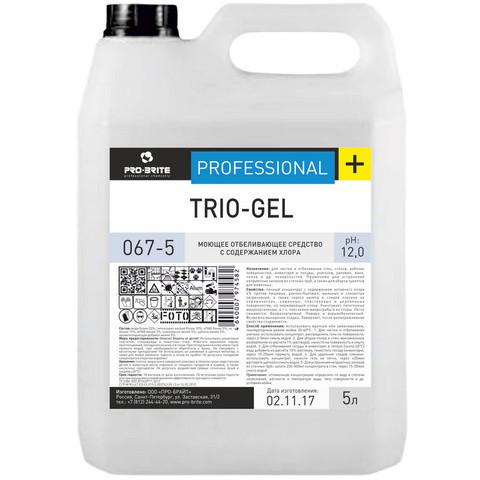 Дезинфицирующее средство с отбеливающим эффектом Pro-Brite Trio-Gel 5 л (концентрат)
