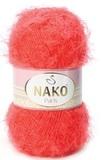 Пряжа Nako Paris 11271 красно-оранжевый