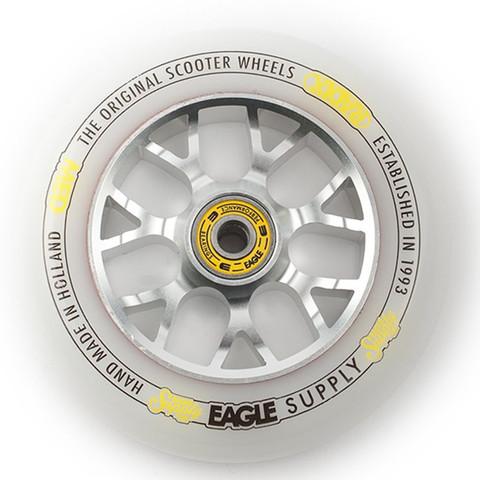 Колесо для самоката EAGLE Radix Chunky X6 (Silver/White)