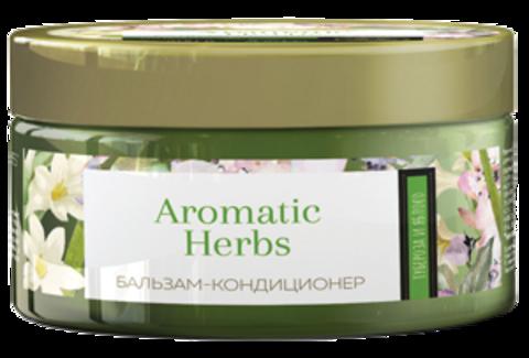 Romax Aromatic Herbs Бальзам-кондиционер Тубероза и Яблоко для сухих и ломких волос 300г