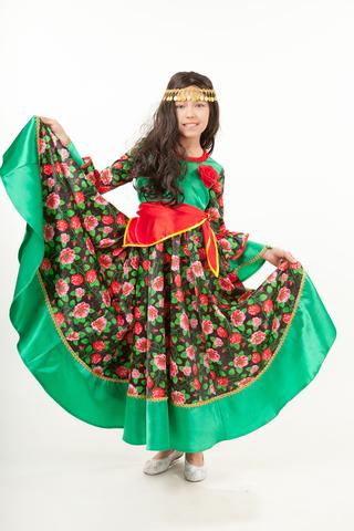 1015  Карнавальный костюм Цыганка Рада