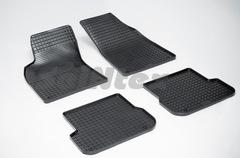 """Резиновые коврики """"Сетка"""" для Audi Allroad (2006-2011)"""