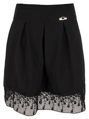 6308 юбка женская, черная