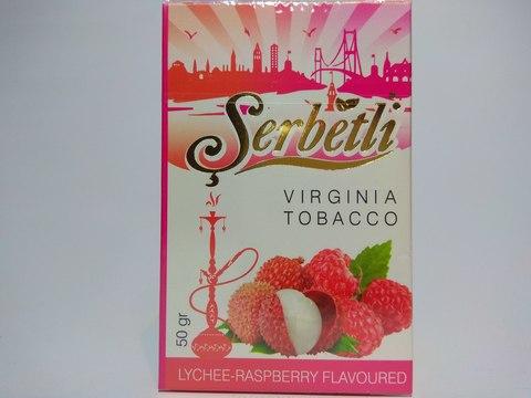 Табак для кальяна SERBETLI Lychee Raspberry 50gr