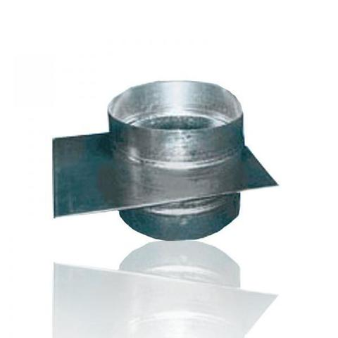 Шибер D 250 оцинкованная сталь