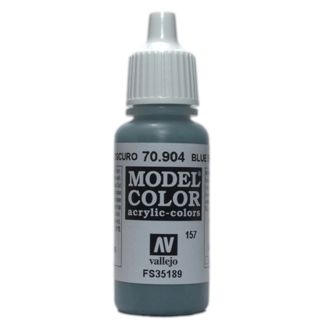 Model Color Dark Blue Grey 17 ml.