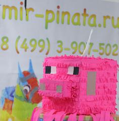 Пиньята Майнкрафт свинья