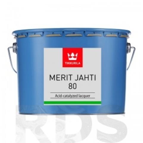 Tikkuria Merit Jahti 80/Тиккурила Мерит Яхти 80 однокомпонентный глянцевый уретано-алкидный лак для внутренних и наружных работ
