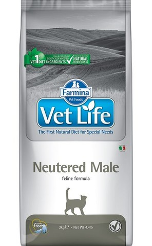 Vet Life Cat Neutered Male - для кастрированных котов