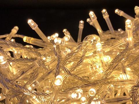 Дощ-гірлянда Бахрома 240 LED C 5 м. біла