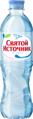 """Вода """"Святой источник"""" питьевая негазированная  0,5 л"""