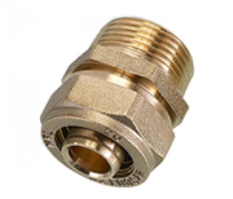 SМ 32*1 1/4 FLEXY Соединение (муфта) труба-наружняя резьба (папа)